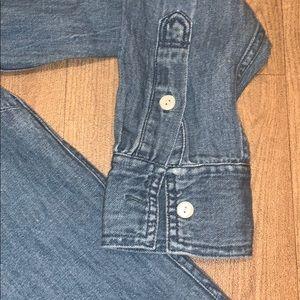 J. Crew Dresses - J. Crew chambray button down dress